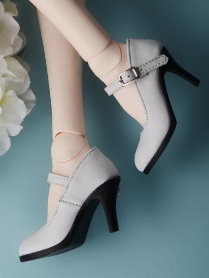 doll more sd basic heels white