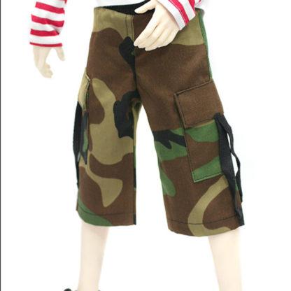 doll more sd camo cargo shorts