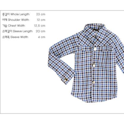 doll more sd check dream shirt