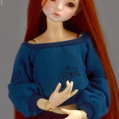 dollmore msd hakkashue blue t shirt