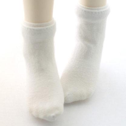 dollmore msd basic white socks