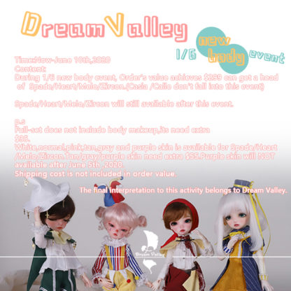 dream valley may 2020 event