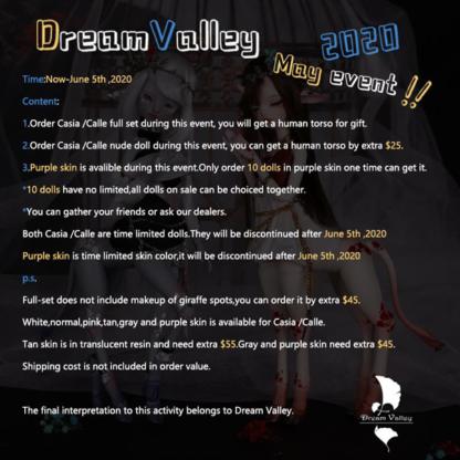 dream valley giraffe casia calle may event