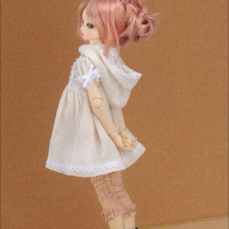 doll more msd vanilla race hood blouse