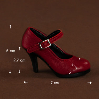 doll more basic heels red sd