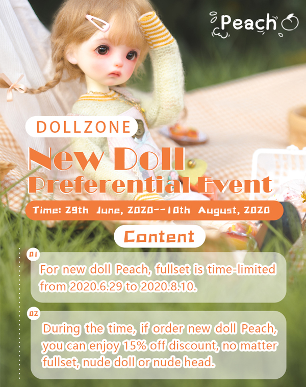 doll zone yosd peach