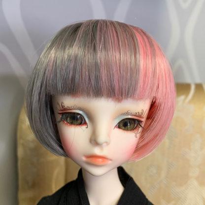 jinsun wigs gray pink