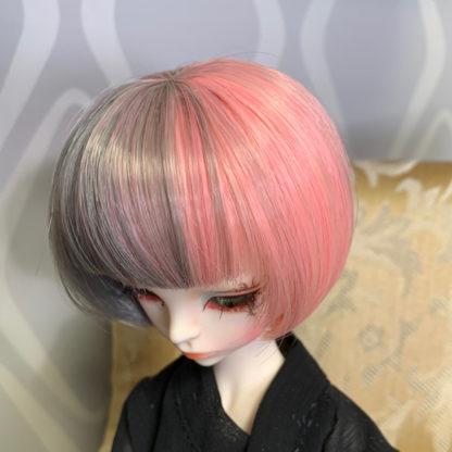 jinsun wig gray pink