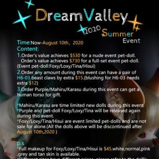 dream valley summer 2020 event