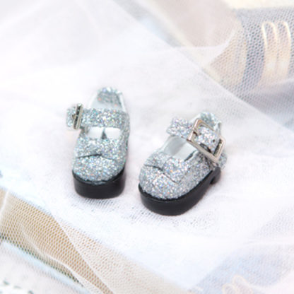 pukifee pearl silver shoes