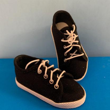 shoe shack msd minifee sneaks black