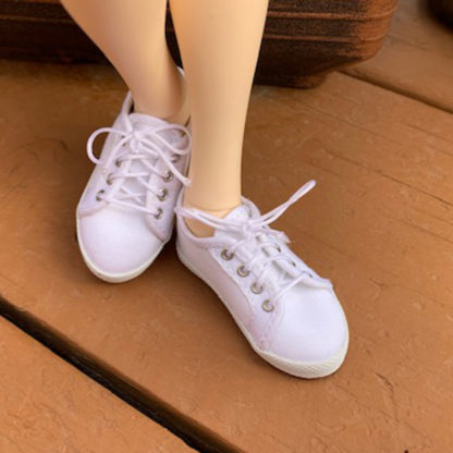 shoe shack msd minifee sneaks white