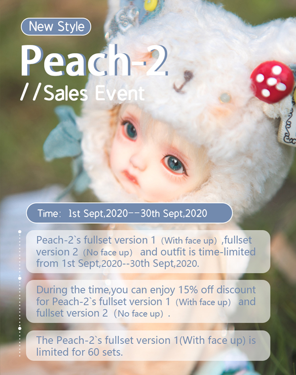 doll zone yosd peach 2 event