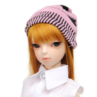 dollmore natural beanie pink msd