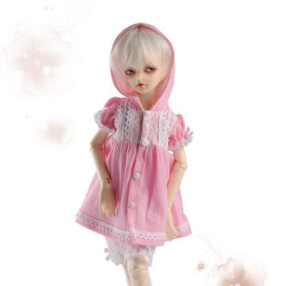dollmore vanilla race hood pink msd