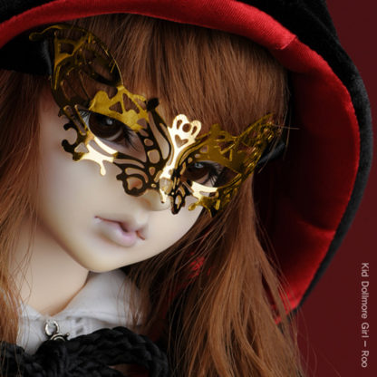 dollmore venezia gold mask