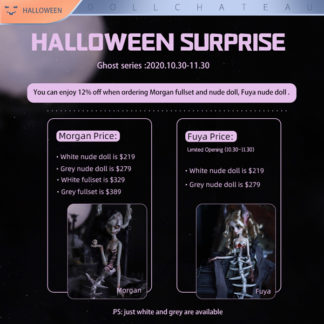 doll chateau ghost series halloween event 2020 morgan fuya