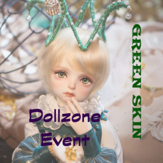 doll zone 2021 winter event green resin