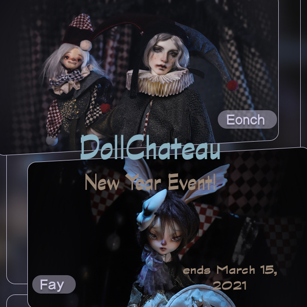 doll chateau new year event 2021