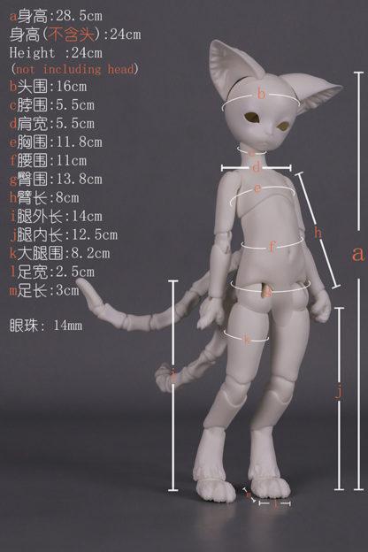 dream valley yosd cat boy body b6-13