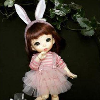 anydoll style small pukifee rabbit pink