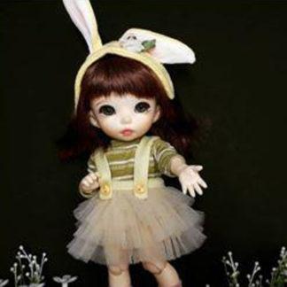 anydoll style small pukifee rabbit yellow