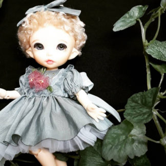 anydoll style small pukifee mint flower dress