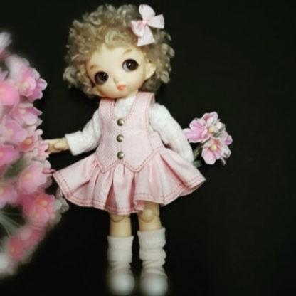 anydoll style xsmall pukipuki pink frill