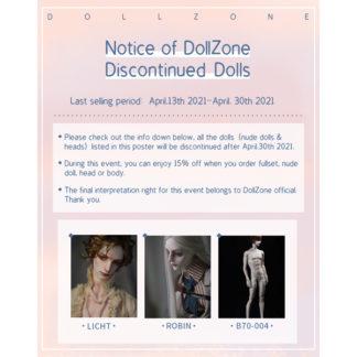 dollzone discontinue robin licht b70-004