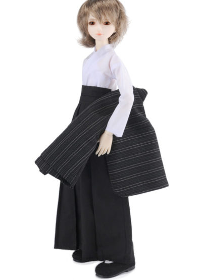 dollmore msd navy check kimono
