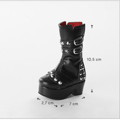 dollmore msd new rock boots black