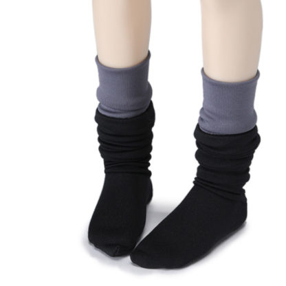 dollmore msd two hue black gray stockings