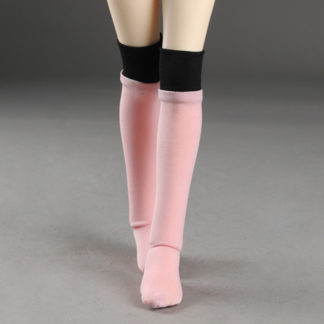 dollmore msd two hue pink black stockings