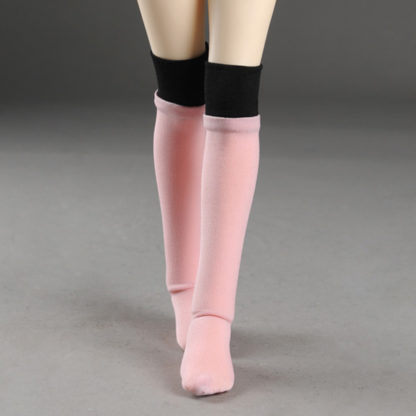 dollmore msd two hue pink black stockings
