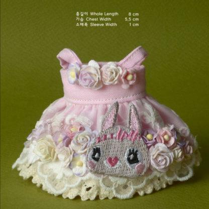 dollmore bebe rabbit flowers dress