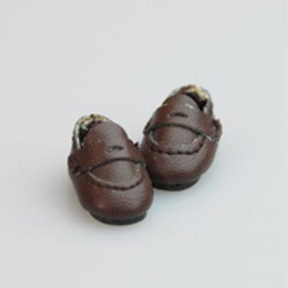 glib 20mm brown loafer