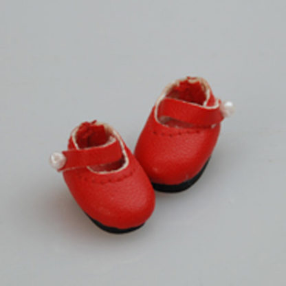 glib 20mm mary janes red