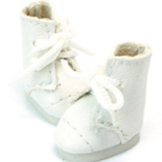 glib 20mm lace up boot white
