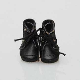 glib 25mm lace up boots black