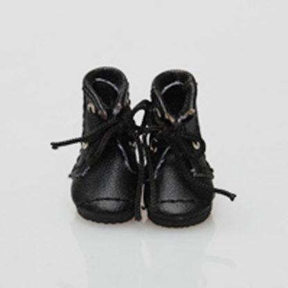 glib 25mm lace up boots black