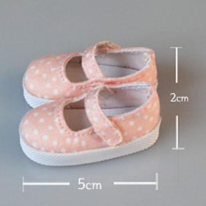 glib 45mm peach dot