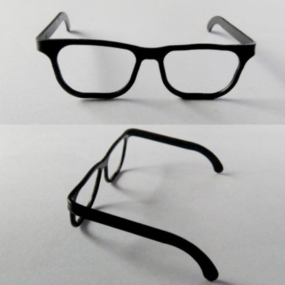 realms black frames glasses