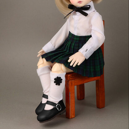 dollmore deardoll yosd black macaroon mary janes
