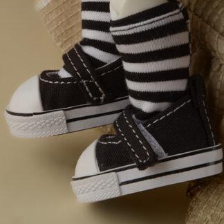 dollmore deardoll yosd black sooni sneakers