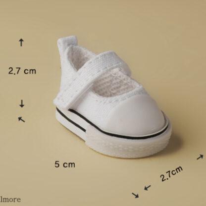 dollmore deardoll yosd white sooni sneakers