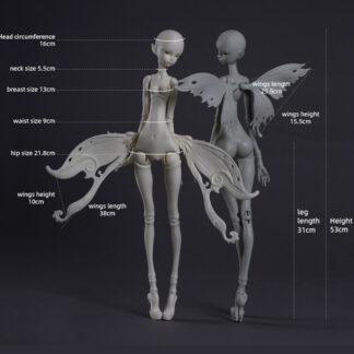 doll chateau winged body msd kid k-21-1