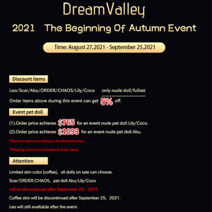 dream valley fall event 2021