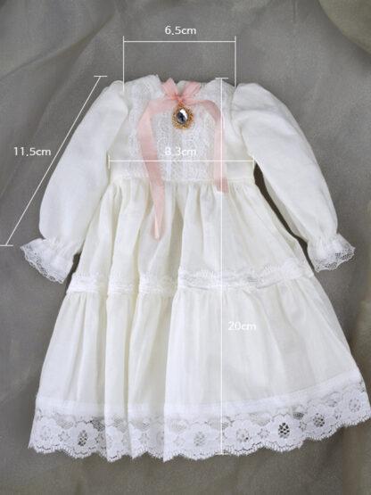 dollmore msd ivory plump dress